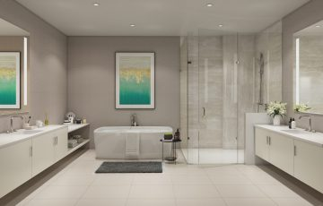 Moore Owner's Bath